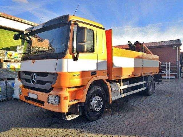 Mercedes-Benz Actros 1832 L 4x2 Actros 1832 L 4x2, Kran Palfinger Pk16001k - 2010