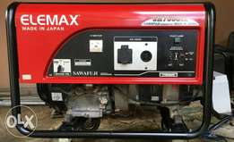 Clean Used Elemax Generator For Sale
