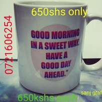 Mugs..we customise special mugs with images and messages..for gifts