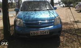 Toyota Ist, KBG, year 2002, 1300 CC, accident free.