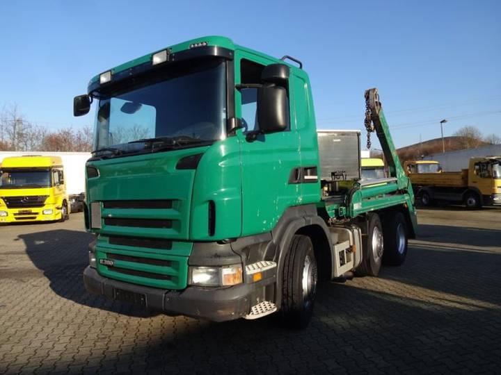 Scania R380 Absetzk. GERGEN hydr. Verieg./schwenk. Arme - 2009