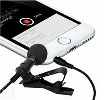 Microphone For Bloggers And Vloggers Lapel with Mic Clip-on