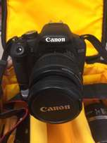 Canon 500d with 2 lenses