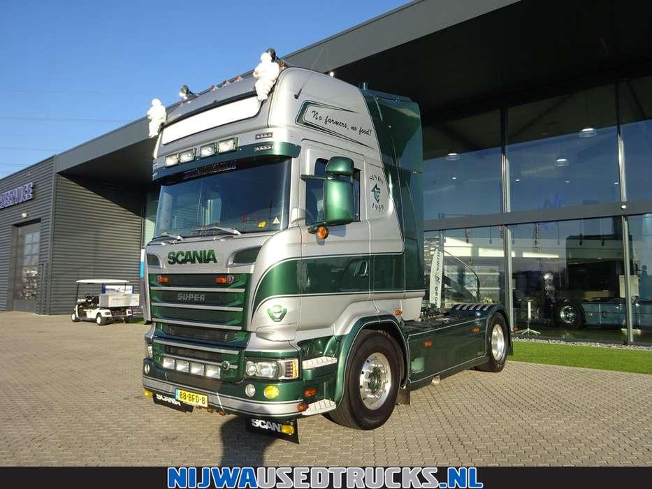 Scania R 520 Retarder + Hydrauliek - 2014