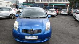 Toyota Yaris1.6 Model 2004 5 Doors factory A/C And C/D Player