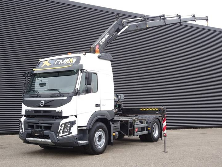 Volvo FMX 13.460 EURO 6 / HIAB 220 CRANE / KRAN GRUE - 2015