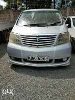 A very clean and well maintained Toyota Alphard for sale