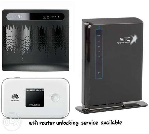"wifi router unlocking service available'"" المنامة -  1"