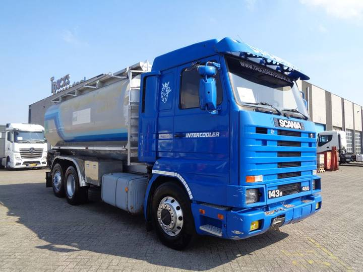 Scania 143H 450 + Manual + 3 compartiments - 1995 - image 3