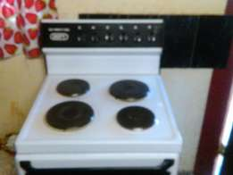 Defy four plate stove for sale.