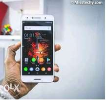 Infinix hot5 fingerprint with the phone accessory and the receipt