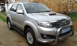 2012 Fortuner 2.5d-4d Rb Still In Very Good Condition For Sale