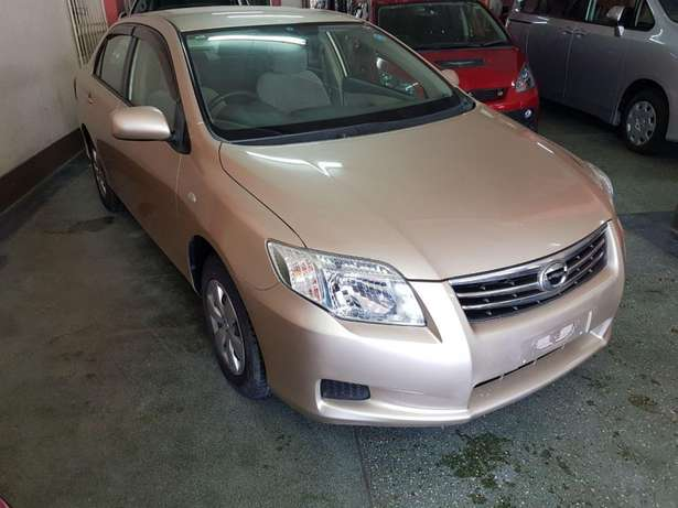 Toyota Axio Gold colour KCP number 2010 model loaded with alloy r Mombasa Island - image 7