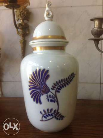 Antique vase, made in holland, hand made, zahle