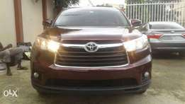 Toks Toyota Highlander 2015 Model Limited