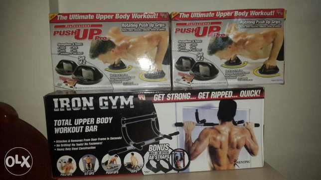 Pull up bar full options and push up bar professional