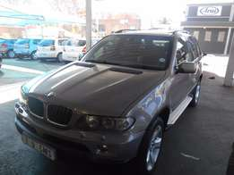 Automatic Grey BMW X5 3,0 d Engine