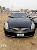 Infiniti G35, Very Sharp V6, Manual - 6 Speeds Gear. 800k only...