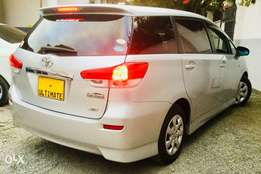 toyota wish 2010 Kcp just arrived at 1,299,999/=only pay dep 285k ONLY