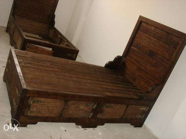For sale handmade 2 beds (Real wood)