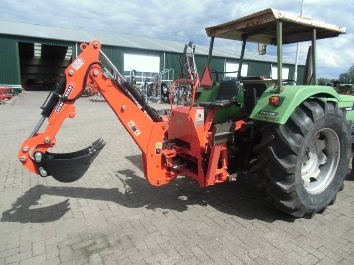 Arm laad graaf combinatie crane  for tractor