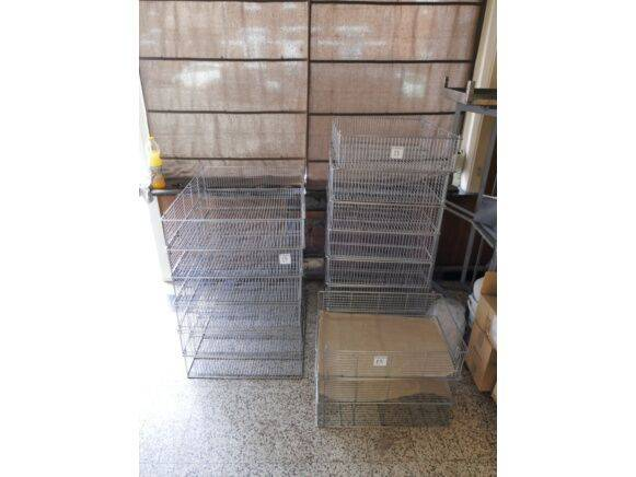 Sale metal mesh baskets storage box for  by auction