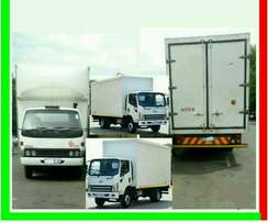 Closed Body Trucks For Hire.Local And Long Distances