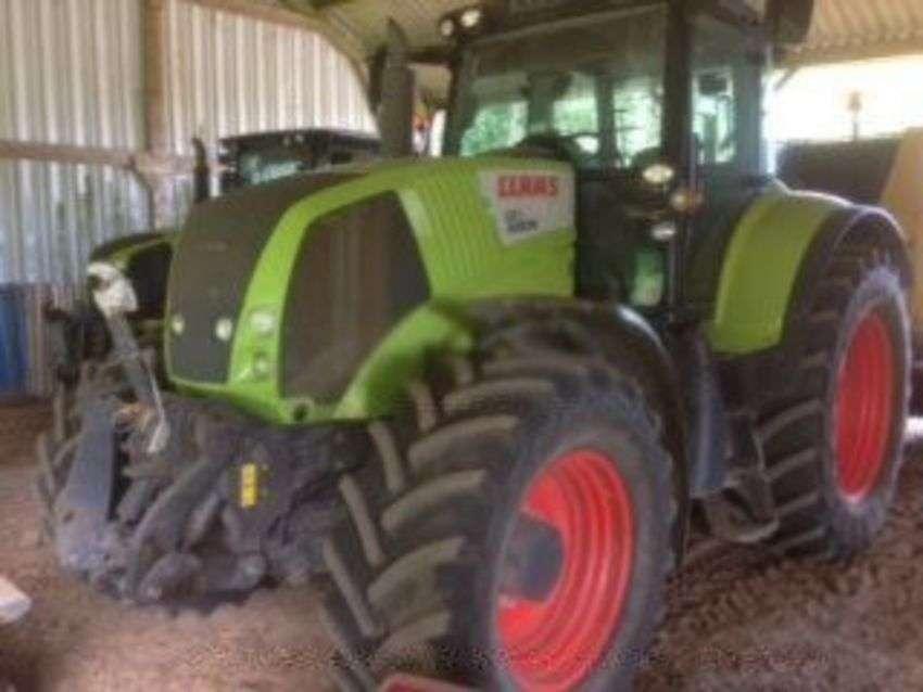 Claas axion 810cbi tracteur axion 810 cebis - 2010