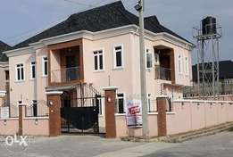 2Units of Architectural Well finished 5 Bedroom fully Detached duplex