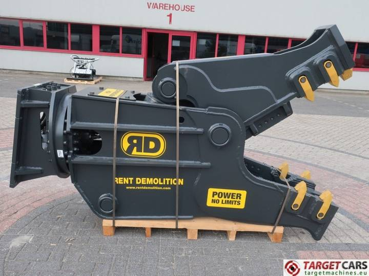 Rent Demolition RD25 Hydr.Rot.Crusher Pulverizer Shear 25...