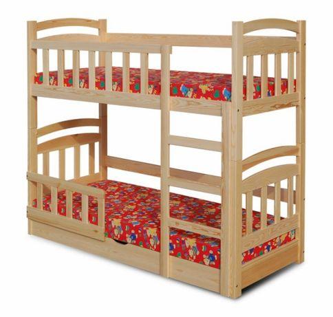 łóżko Piętrowe Mati Dla Dwójki Dzieci Materace W Zestawie