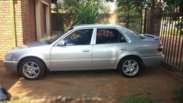 2000 Corrolla RXI 1.6 for sale or swop