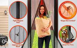 Magnetic anti mosquito net curtain