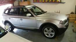 Bmw x3 3.0l swop/ruil whu in superb condition