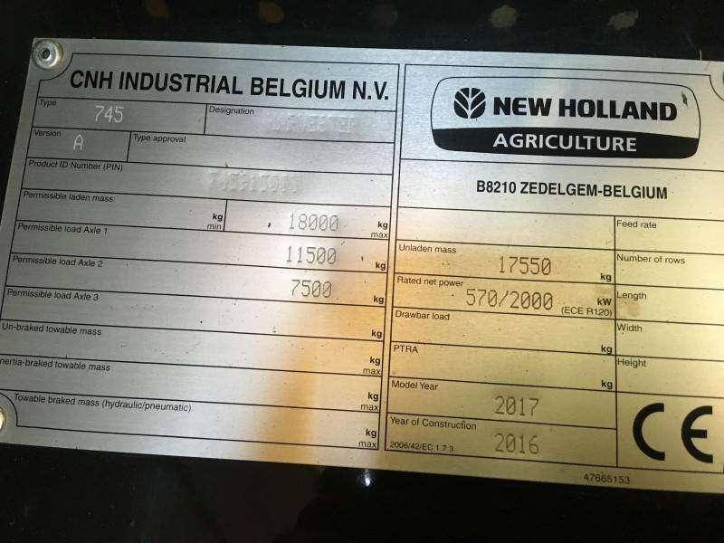 New Holland Fr780 - 2016