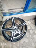 Alloyed rims palace size 16