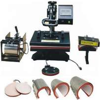 6 in 1 Heat Press Sublimation Machines Available