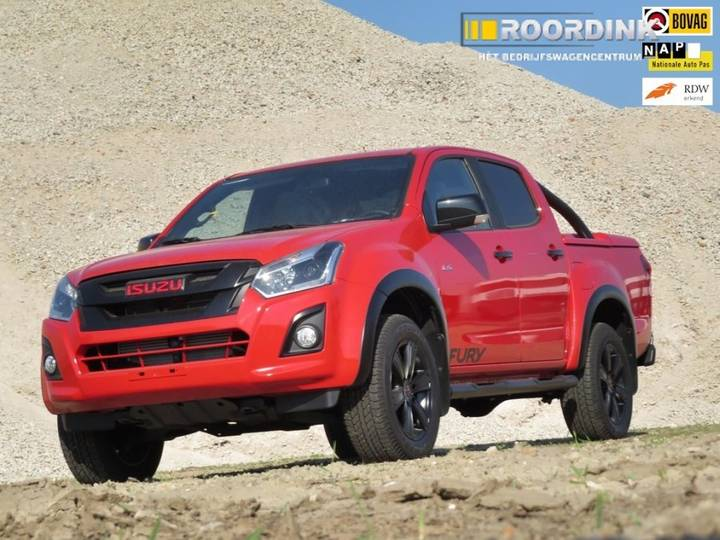 Isuzu D-Max 1.9 Extended Cab Red Fury