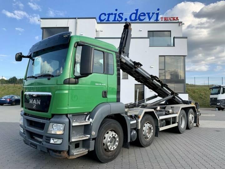 MAN TGS 35.440 8x2 Siloaufsteller | Lenk- Liftachse - 2012