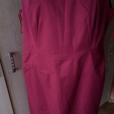 e66cc525b7 De Facto-czerwona sukienka z koronką rozm. 46 sylwester Białystok - image 3