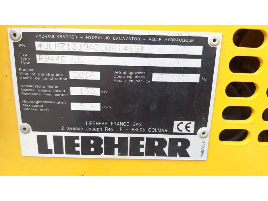 Liebherr R 944C LC - 2016 - image 14