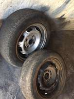selling rims 114 pcd 14s needs tires only 2 rims