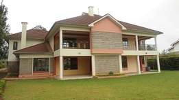 3 bedroom double storey plus sq on 0.5 acres for rent in Thome .