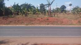 1 acre in Sonde touching main road at 600M