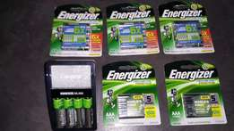 Energizer Rechargeable batteries + charger
