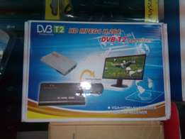 Digital TV box with local channels