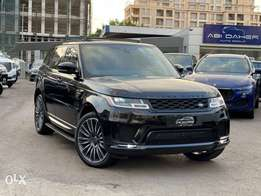 2018 Range Rover Autobiography blk/red