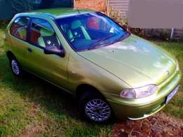 Fiat Palio 2002 1.2 New brakes and shocks Car in a very good drivable