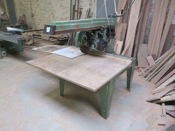 Saw Radial Woodworking Machinery For Sale By Auction For Sale Tradus