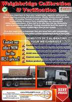 Weighbridges Calibrations & Verification's. CALL NOW!